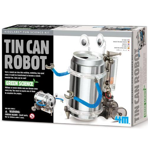 GREEN SCIENCE TIN CAN ROBOT