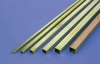 K&S 8155 SQ.BRASS TUBE 1/4