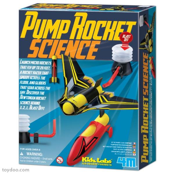 KIDZ LABS PUMP ROCKET SCIEN