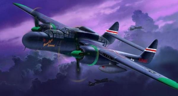 REVELL P-61 A/B BLACK WIDOW