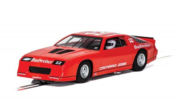 SCALEXTRIC CHEVY CAMARO IROC-Z RED