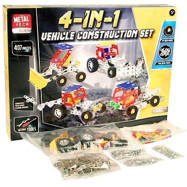 METAL TECH 4IN1 CONSTRUCTION SET