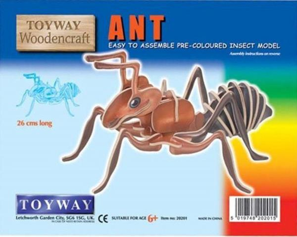 WOODEN ANT KIT