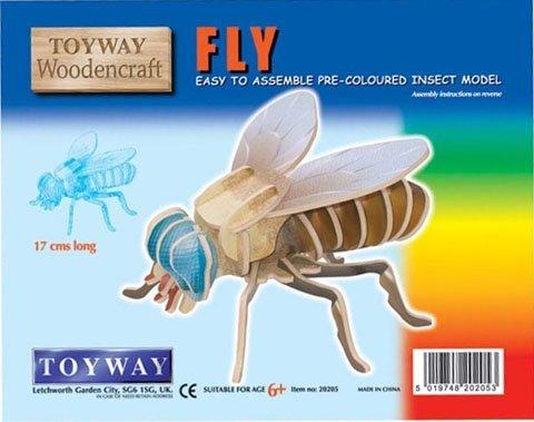 WOODEN FLY KIT