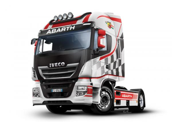 ITALERI IVECO HI-WY ABARTH SHOWTRUCK