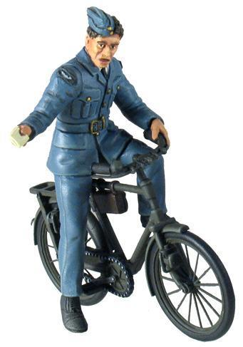 W.BRITAINS WW11 RAF MAN ON BIKE