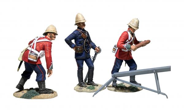 W.BRITAINS ZULU WAR BRIT. ROCKET BATTER