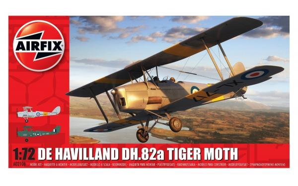 AIRFIX DEHAVILLAND TIGER MOTH 1/72