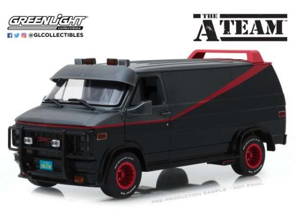 GREENLIGHT 1/18 GMC A TEAM VAN
