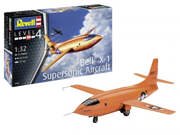 REVELL BELL X-1 SUPERSONIC 1/32