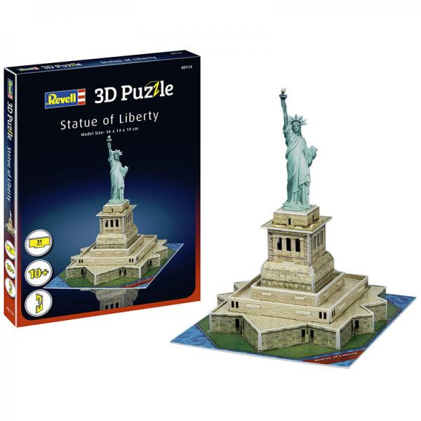 REVELL 3D PUZZLESTATUE OF LIBERTY