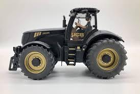 SIKU JCB FASTRAC BLACK LIMITED EDITION