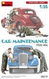 MINIART 1/35 CAR MAINTENANCE 30's 40's